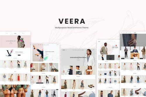 قالب وردپرس فروشگاهی چندمنظوره Veera – Multipurpose WooCommerce Theme