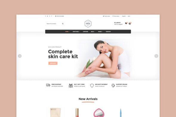 پوسته وردپرس فروشگاهی Vicky - Cosmetic WooCommerce WordPress Theme