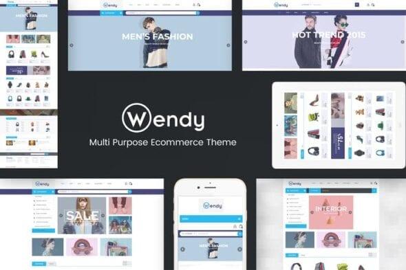 قالب وردپرس چند فروشگاهی Wendy - Multi Store WooCommerce Theme
