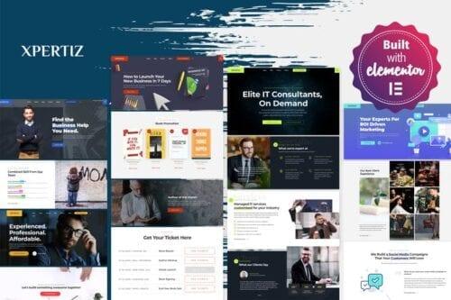 قالب وردپرس کارشناسی و مشاوره Xpertiz - WordPress Theme For Advisors And Experts