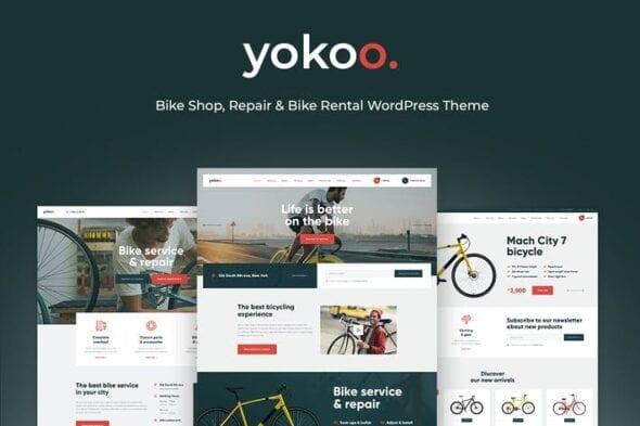 قالب وردپرس فروشگاهی Yokoo