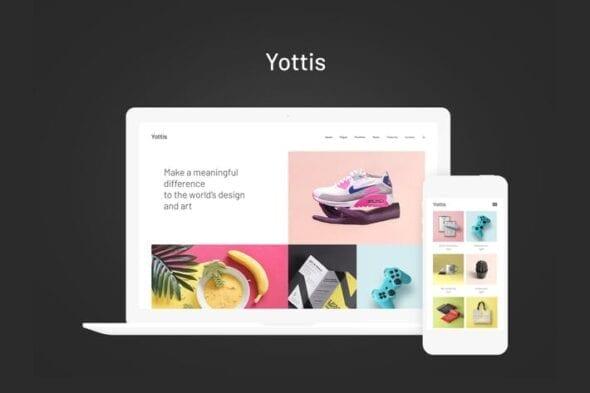 قالب وردپرس بلاگ شخصی Yottis