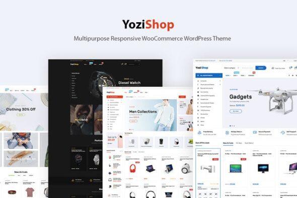پوسته وردپرس فروشگاهی Yozi - Electronics WooCommerce WordPress Theme