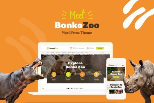 پوسته وردپرس باغ وحش Bonko
