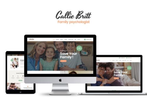 پوسته وردپرس روان درمانی و مشاوره Callie Britt