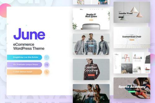 پوسته وردپرس فروشگاهی June   Fashion WooCommerce WordPress Theme