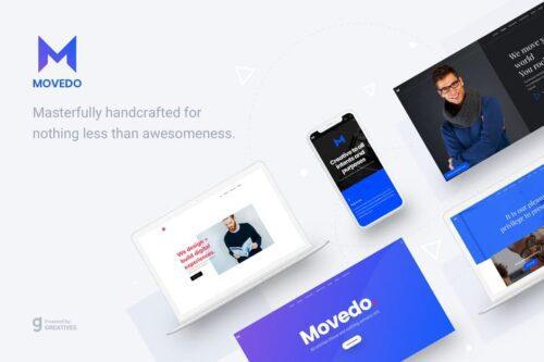 قالب وردپرس چندمنظوره MoveDo - Responsive Multipurpose WordPress theme