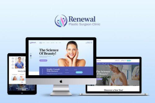 قالب وردپرس پزشکی Renewal
