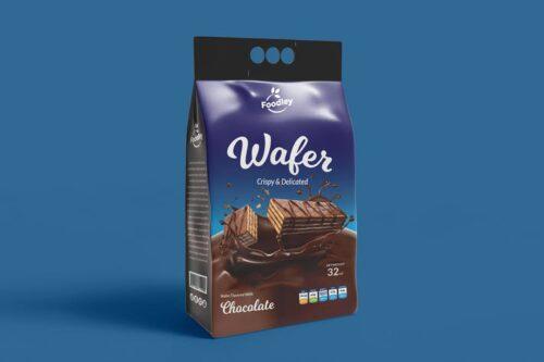 طرح لایه باز بسته بندی ویفر Wafer Packaging V2