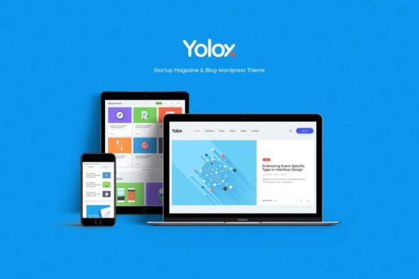 قالب وردپرس بلاگ Yolox | Modern WordPress Blog Theme for Business
