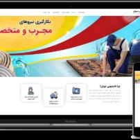 وب سایت آماده قالیشویی تهران