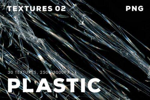 طرح لایه باز تصویر پس زمینه پلاستیک 30 Plastic Texture Overlays   02