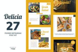 afzoneha.com_DELICIA – Instagram Post Kit